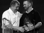 Jerry Colangelo and Mark Grace World Series 2001