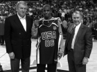 Jerry Colangelo , Chris Paul and George Shinn