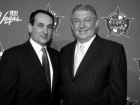 Coach K and Jerry Colangelo