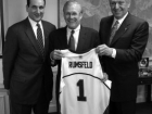 Jerry Colangelo, Coach K and Secretary of Defense Donald Rumsfeld
