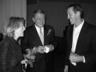 Joan and Jerry Colangelo and Jeff Hornecek