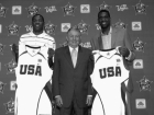 Jerry Colangelo, Kevin Durant and Greg Oden