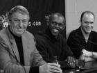 Jerry Colangelo, Frank Johnson and Scott Skiles