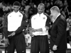 Lebron James, Kobe Bryant and Jerry Colangelo