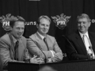 Steve Kerr, Robert Sarver and Jerry Colangelo