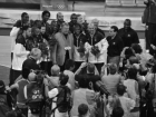 Jerry Colangelo with USA Team - Presentation of Olympic Gold Medals 2008