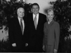 Senator John McCain, Jerry Colangelo and Cindy McCain